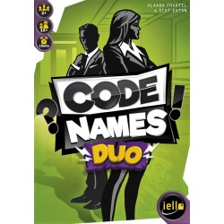 """code name duo meilleur jeu de société deux joueurs """"la box à jouer"""""""